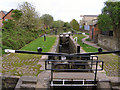 SJ8997 : Ashton Canal Lock 16 by David Dixon