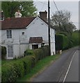 TQ4928 : Weatherboarded cottage, Poundgate by N Chadwick