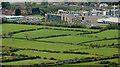 J3685 : Railway and fields near Greenisland by Albert Bridge