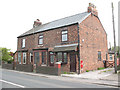 SJ7366 : Houses with postbox, Sproston Green by Stephen Craven
