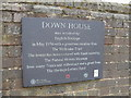 TQ4361 : Plaque outside Darwin's home, Down House by Basher Eyre