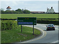 ST5164 : A38 at Bristol Airport by Thomas Nugent