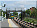 TQ2869 : Old footbridge at Mitcham Eastfields by Stephen Craven