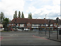 SP0593 : Local shops on Walsall Road by Peter Whatley