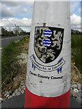 H2318 : Traffic cone at Clontycamaghan by Kenneth  Allen