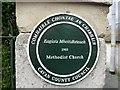 H3617 : Plaque, Methodist Church, Belturbet by Kenneth  Allen