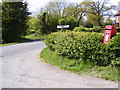 TM2868 : B1116 Laxfield Road & Goddards Corner Postbox by Adrian Cable