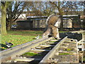TQ5846 : Squirrel On The Line by Oast House Archive