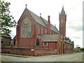 SJ8696 : St Benedict's Church, Ardwick by David Dixon