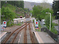 NH3961 : Garve level crossing : Week 21