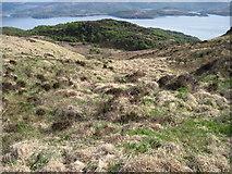 NM5961 : Silver Hill towards Loch Sunart by Chris Wimbush