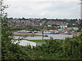 ST1167 : View of Barry waterfront by Gareth James