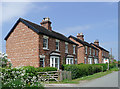 SJ7922 : Semi-detached cottages at Norbury Junction, Staffordshire : Week 21
