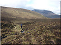 NH1076 : The upper basin of the Allt Eigidh by Karl and Ali