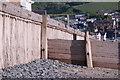 SN6089 : Sea wall 1 by Chris Denny