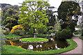 TL1444 : Upper Pond at Swiss Garden - Old Warden by Mick Lobb
