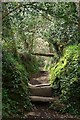 SW7625 : Stile on the Footpath by Tony Atkin