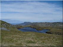 NR6593 : Loch Carn nan Gillean by Andrew Spenceley