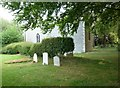 SU8307 : Recent graves, St Mary Sennicotts (11) by Basher Eyre
