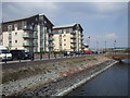 ST1267 : Waterfront apartments, Barry by John Lord