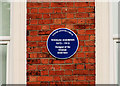 Photo of Thomas Andrews blue plaque
