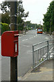 SK5249 : Wood Lane postbox Ref No NG15 13 by Alan Murray-Rust