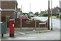 SK5148 : Polperro Way postbox Ref No. NG15 43 by Alan Murray-Rust