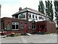SE3110 : The Woolley pub gutted by fire by John Fielding