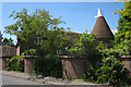 TQ5558 : Oast House on Park Lane, Kemsing, Kent by Oast House Archive