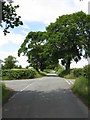 SJ8062 : Crossroads on Brookhouse Lane by Peter Whatley
