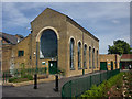 TQ3488 : Markfield Road Pumping Station, South Tottenham, London N15 by Julian Osley