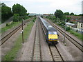 TL1835 : East Coast Main Line at Arlesey by Nigel Cox