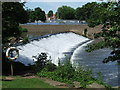 SK3536 : Weir on the Derwent, Derby by Malc McDonald