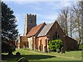 TM3050 : Bromeswell St Edmund's church by Adrian S Pye