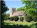 TM1138 : Bentley St Mary's church (Suffolk) by Adrian S Pye