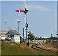 TA0824 : Old Style Railway Signal, New Holland : Week 26