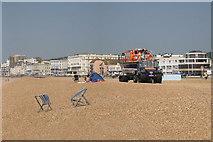 TQ8209 : Pelham Beach by Oast House Archive