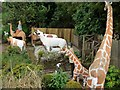 NT8937 : Giraffes, The Cement Menagerie, Branxton by Andrew Curtis