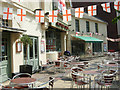 Dist:0.3km<br/>The flags outside this pub anticipate an England victory, in the following day's world cup clash with Germany, that was not to be.