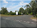 SJ7168 : Entrance to Middlewich Road Industrial Estate by Stephen Craven