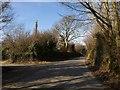 SX0356 : Road past Knightor by Derek Harper