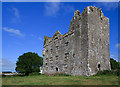 R2393 : Castles of Munster: Leamaneh, Clare by Mike Searle