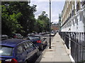 TQ2677 : Paultons Square looking toward Kings Road, Chelsea by PAUL FARMER