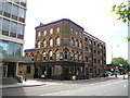 TQ3078 : The Rose Pub, Albert Embankment by canalandriversidepubs co uk