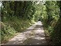 SW8761 : Lane to Bosoughan by Derek Harper