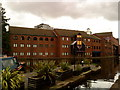 SP0686 : Gas Street Basin by Andrew Abbott