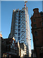 TQ3381 : The Heron Tower, nearly complete by Stephen Craven