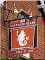 TR1952 : The Mermaid sign by Oast House Archive