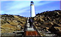 HU7071 : Bound Skerry Lighthouse by Steve Bryan