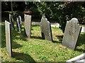 SW8661 : Gravestones, Colan by Derek Harper